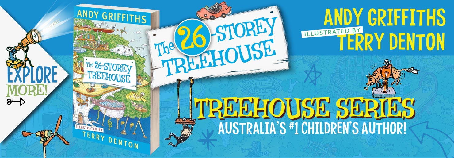 26 Story Treehouse Banner