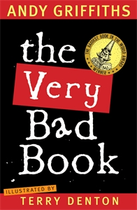 The Very Bad Book cover