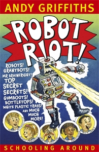 Cover - Robot Riot!: Schooling Around 4