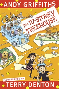 The 117-Storey Treehouse cover