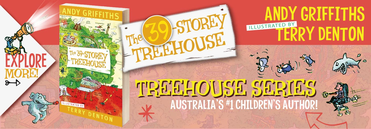 39 Story Treehouse Banner
