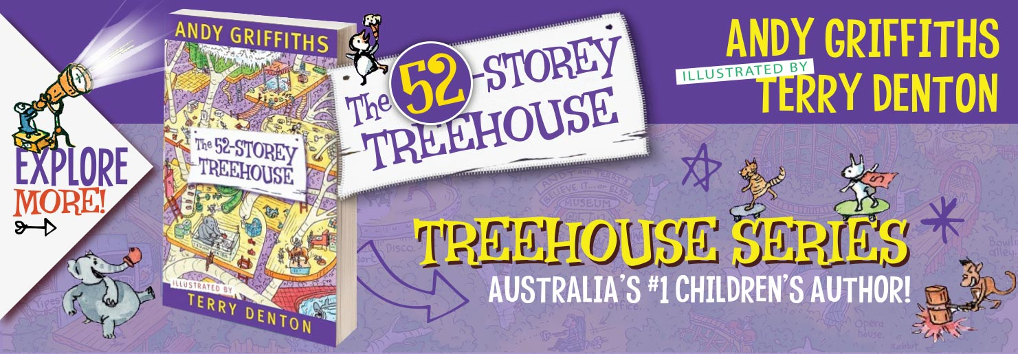 52 Story Treehouse Banner