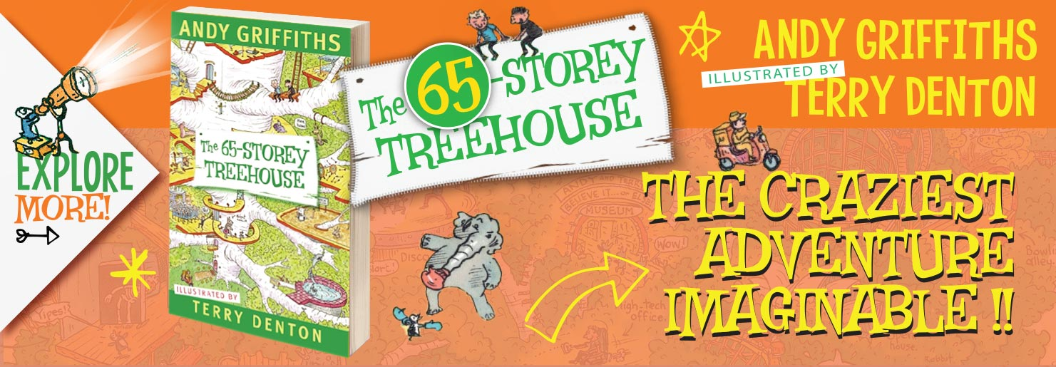 65 Story Treehouse Banner